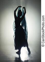 跳舞, 光