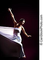 跳舞, 由于, 織品