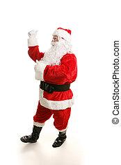 跳舞, 聖誕老人