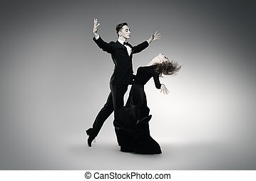 跳舞, 表示, 探戈舞