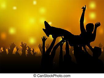 跳舞, 黨