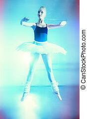 跳躍, 芭蕾舞