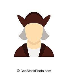 身に着けていること, コロンブス クリストファー, 衣装, アイコン, 人