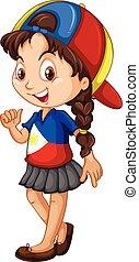 身に着けていること, フィリピン, 帽子, 女の子