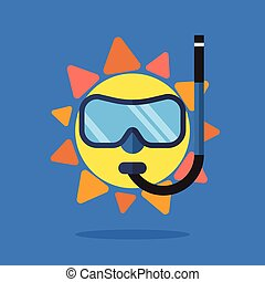 身に着けていること, 夏, サングラス, 太陽