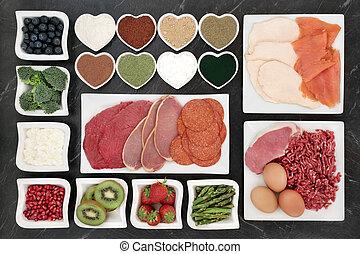 身體建築物, 保健食品