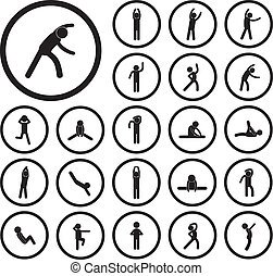 身體, 練習, 圖象