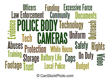 身體, cameras, 警察