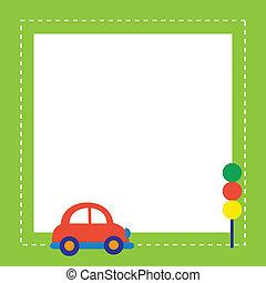 車の交通, 赤灯