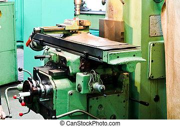 車床, 修理, 植物, metallurgical, 工作, 金屬, 長凳, 大, 設備, 車間, 修理, 鐵, 生產