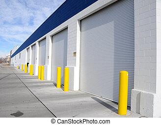 車庫, multi-door, 工業區