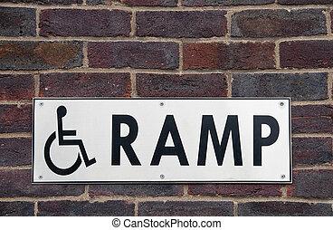 車椅子タラップ, 印