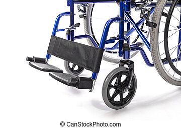 車椅子, 白い背景
