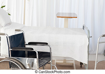 車椅子, 部屋