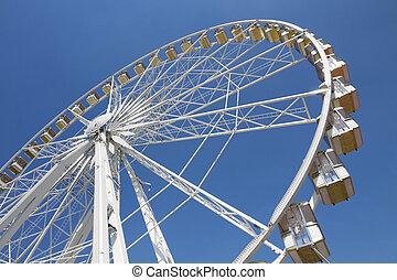 車輪, フェリス, 公園, 娯楽