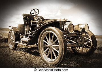 車。, レトロ