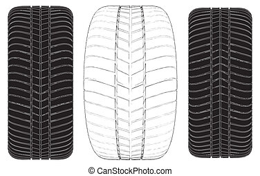 車 車輪, タイヤ