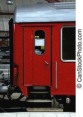 車, 門, 鐵路, 紅色