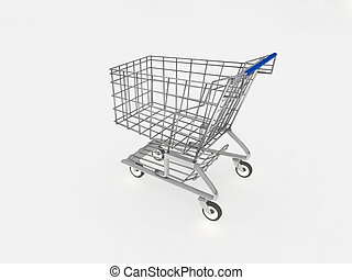 車, 3d, 購物