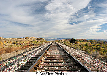 軌道に沿って進む, 列車, 中西部