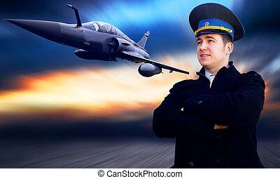 軍の飛行機, スピード, パイロット