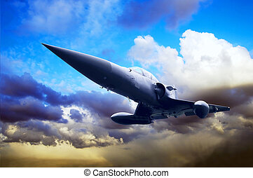 軍の飛行機, スピード