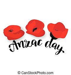 軍隊, オーストラリア, anzac, 新しい, 軍団, zealand, day.