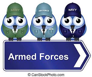 軍隊, 印