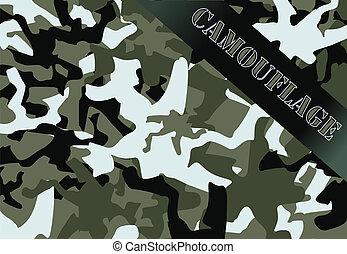 軍, カモフラージュ