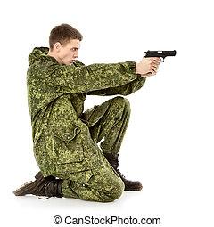 軍, 人, 撃つ