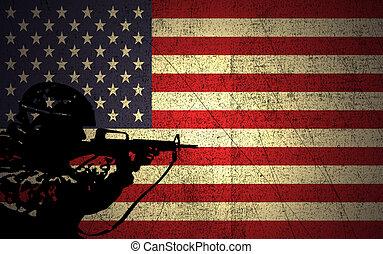 軍, 力, アメリカ