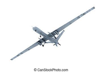 軍, 戦闘, 無人機, 空中に