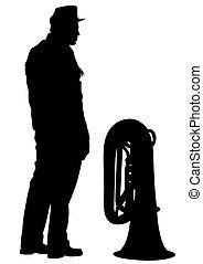 軍, 音楽家, 1(人・つ)