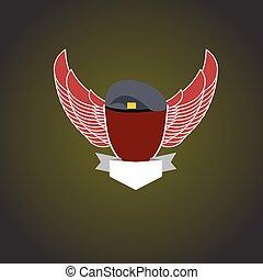 軍, emblem.