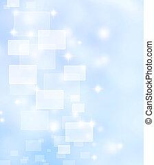 軟, 藍色的背景
