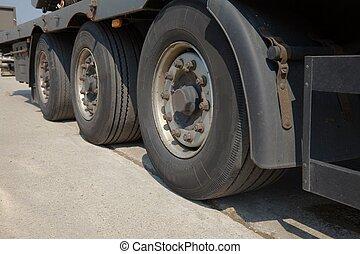 輪子, 卡車