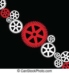 輪子, 齒輪