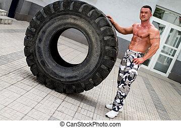 輪胎, 休息, 車身制造者, 以後, 轉動