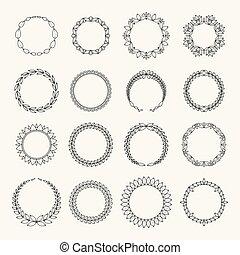 輪, 框架