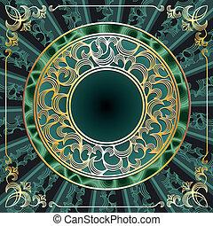 輪, 金, 框架