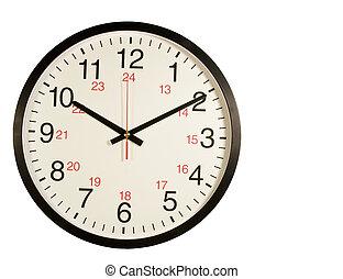 輪, 鐘, 被隔离