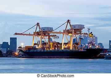 輸入, エクスポート, ロジスティックである, 貨物