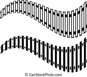 輸送, トラック, shapes., 鉄道, 公衆, 市街電車, 地下鉄, 列車, tracks., 貨物, 2, concepts., 取り替えること, 交通機関, version.