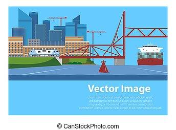 輸送, 水路, vertical-lift, 鉄道, infrastructure:, 橋
