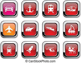 輸送, icons.