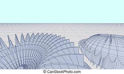 轮子, 技术, 察看, 或者, 摘要, cog, 蓝图, 观点, 背景, 齿轮, 规划