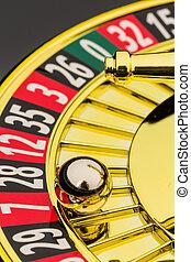 轮盘赌, 娱乐场, 赌博