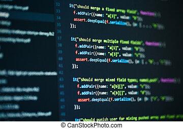 软件, 计算机编写程序, 代码