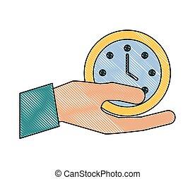 辦公室, 事務, 鐘手, 藏品, 時間