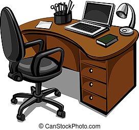 辦公室, 地方